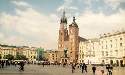 Postcard From Fascinating Krakow Poland