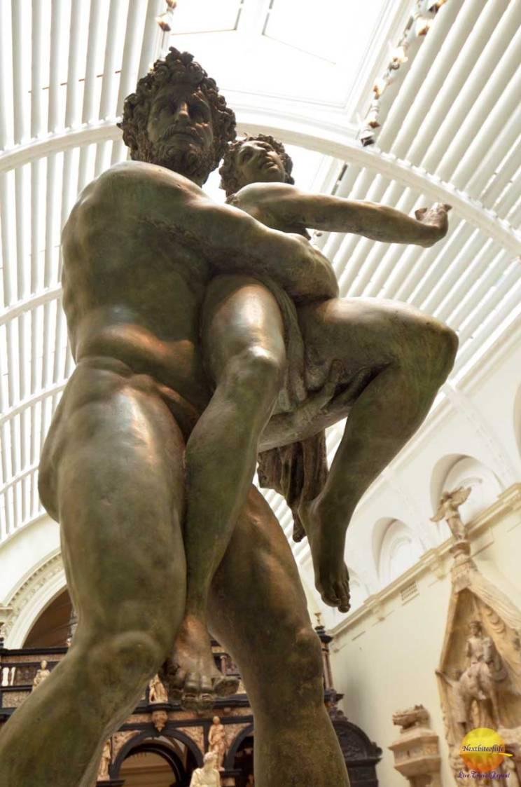 albert and victoria museum cast of rape of persephone