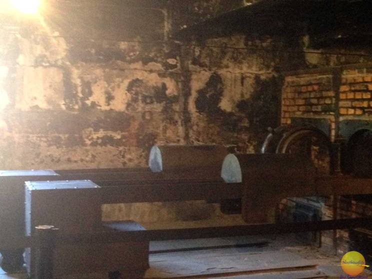 auschwitz crematorium oven furnace