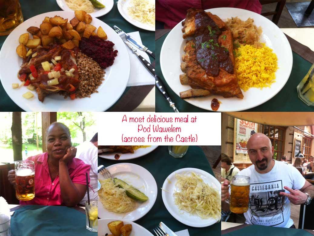 food in krakow at Pod Wawelem
