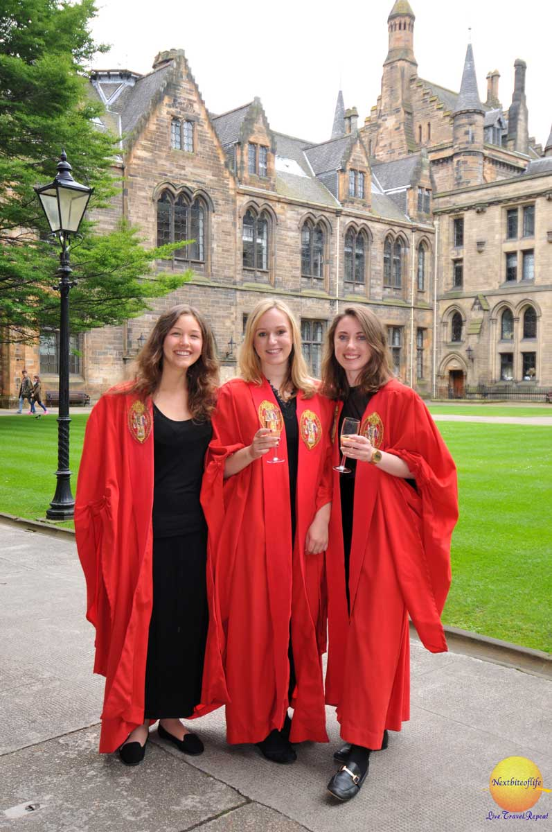 university of glasgow students graduation day