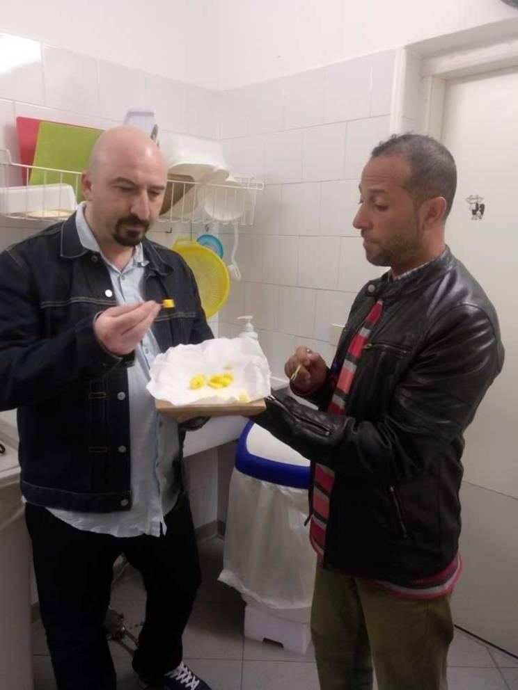 cheese sampling the roman guy tour