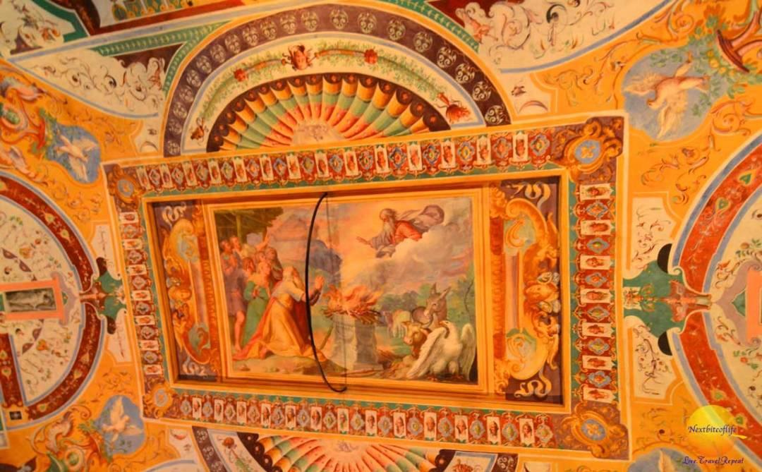 hall of noah fresco