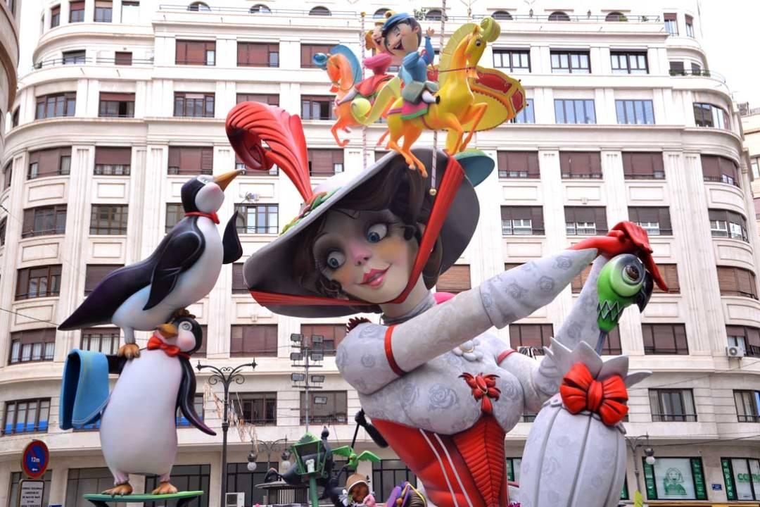 mary poppins fallas valencia ninot