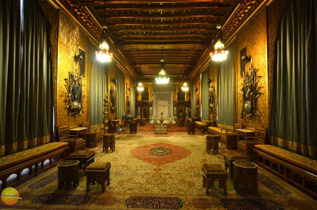 peles castle interior hall