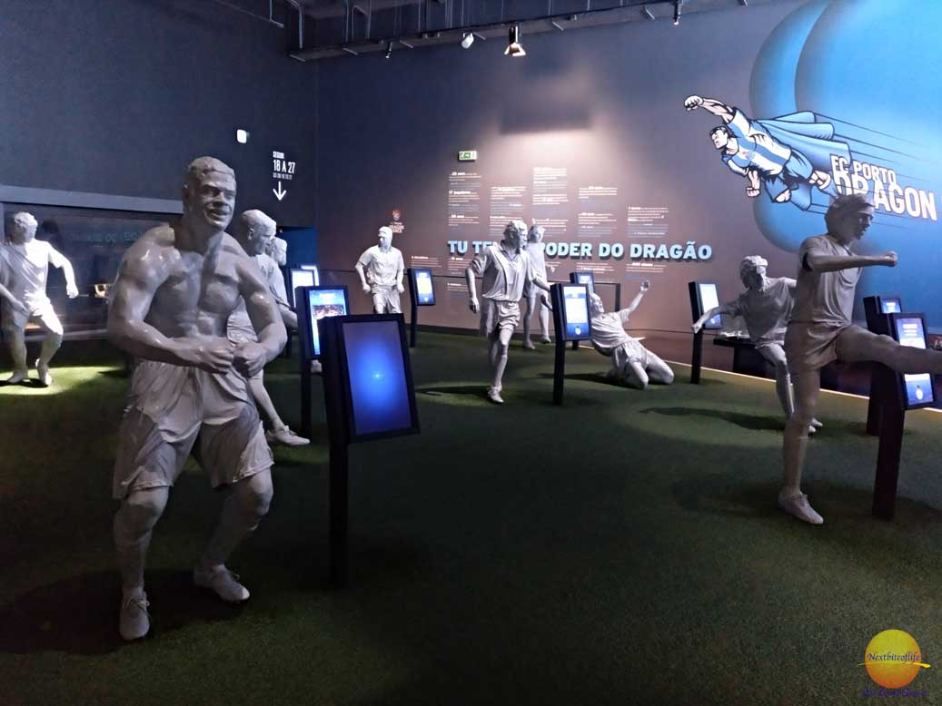 fc porto players statues tour