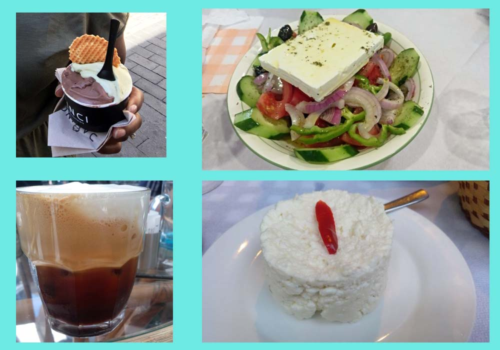coffee salads athens greece