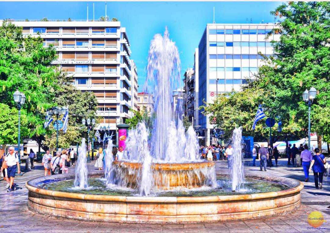 syntagma square athens greece