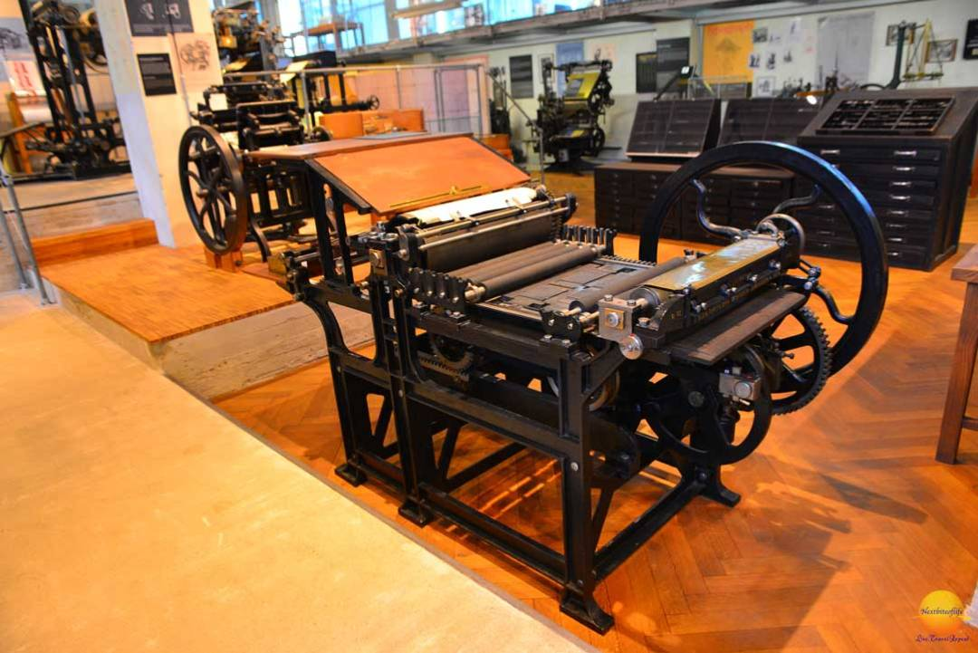 printing press muzeum technicke prague