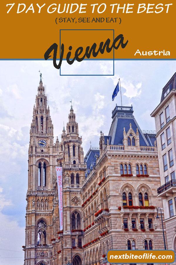 Vienna Austria Guide #vienna #visitvienna #viennaguide #austria #viennaitinerary #viennatravel