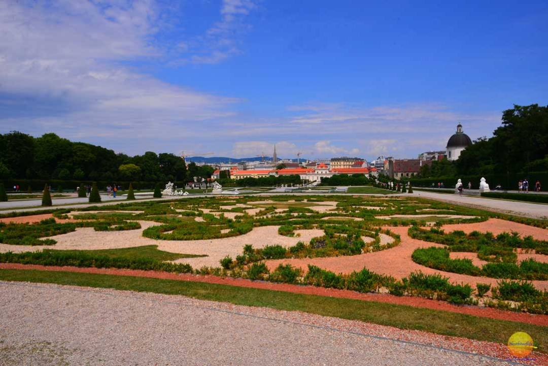 belvedere gardens vienna austria views