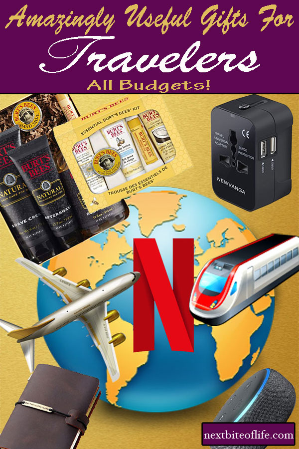 Perfect gifts for travelers, all budgets. #gifts #travelergifts #travelguide #giftguide #holidayguide #holidaygifts