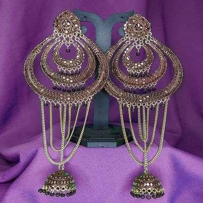 Nextbuye Ethic Jhumka Earrings (2)