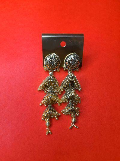 Nextbuye Traditional Kashmiri Big Jhumka Earrings 3