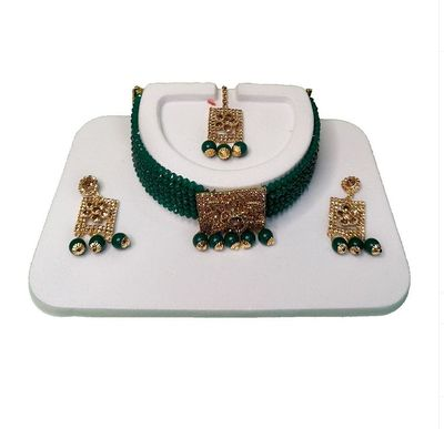 NextBuye Wedding Jewelry Set with American Diamond