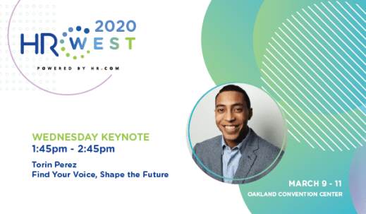 HR West 2020 Keynote Speaker Torin Perez, Diversity, Equity & Inclusion consultant