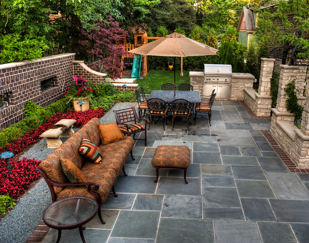 Backyard Landscaping Ideas-The Process of Building a Patio ... on Back Patio Landscape Ideas id=66101