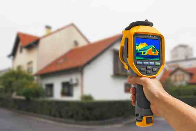 Thermal Imaging on a Residential Home