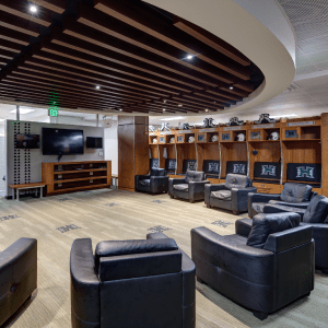 University of Hawaii Football Locker Room
