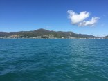 Sailing back to Airlie Beach