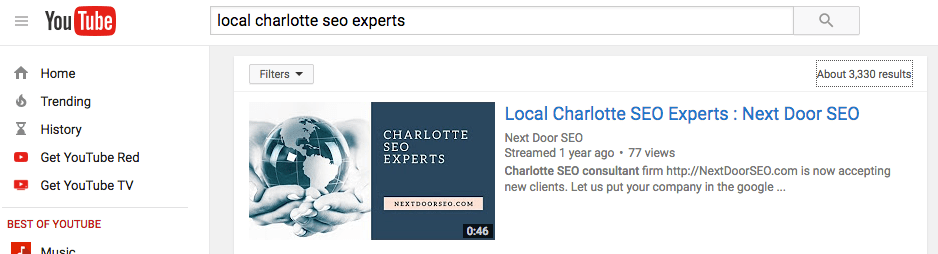 video seo experts