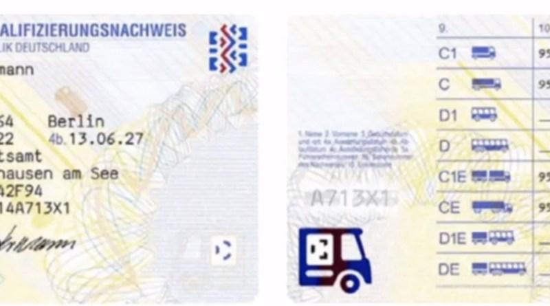Fahrerqualifizierungsnachweis (FQN) frühzeitig beantragen