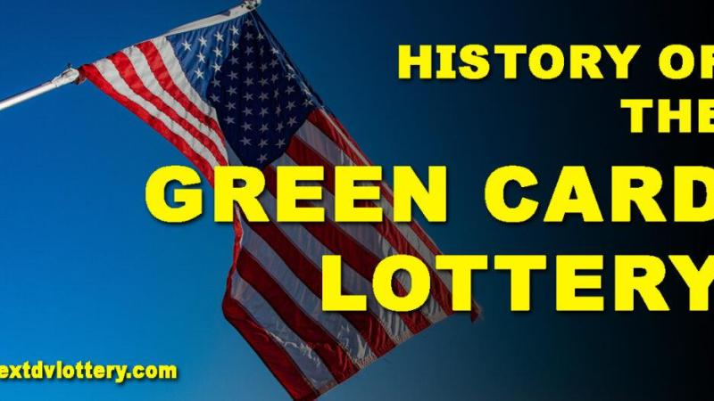 History of the Green Card Lottery