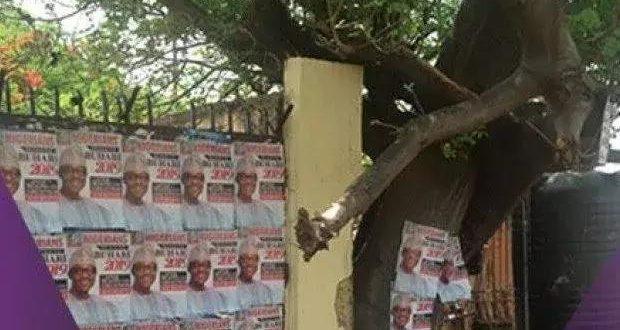 Buhari for 2019 posters flood Makurdi