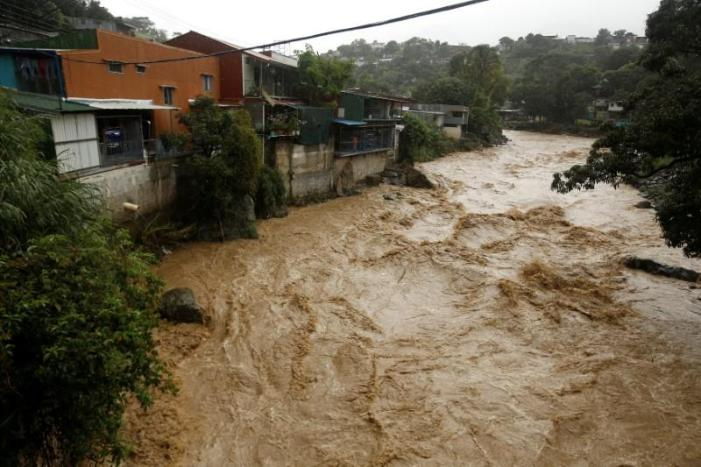 20 people killed as storm Nate hits Central America