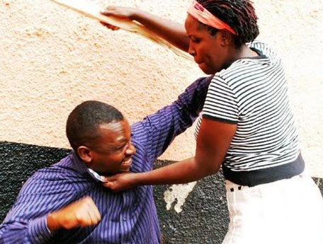 Domestic violence:  57 men report being beaten by their wives