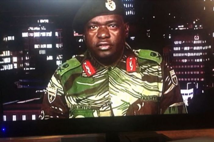 Zimbabwe's president names top military officers in new cabinet