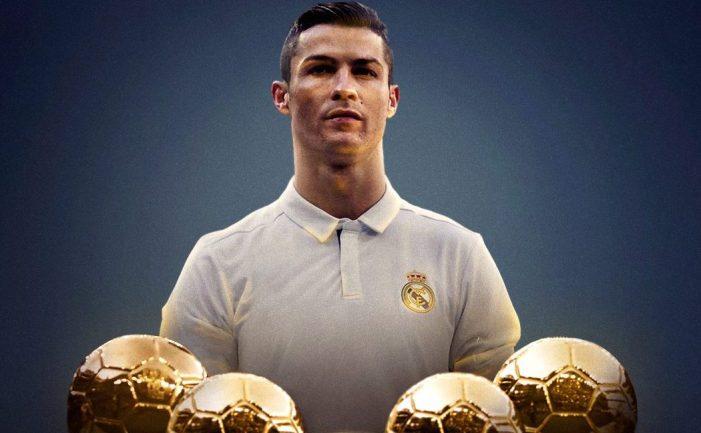 2017 Ballon D'or: Ronaldo wins to equal Messi