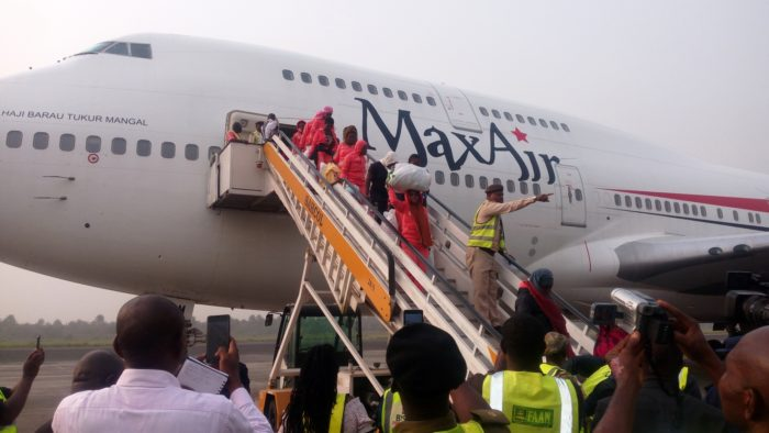 560 stranded Nigerians repatriated from Libya