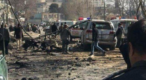 Bomb-laden ambulance kills 40 in Kabul