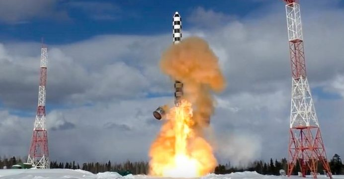 """Russia launches another dangerous missile """"Satan 2"""""""