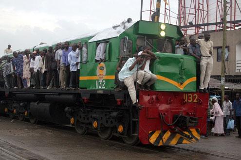 BREAKING:  Train crushes female 'Corper'
