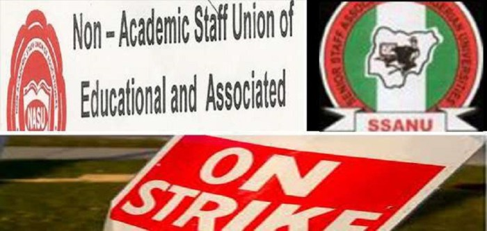 SSANU, NAAT, NASU call off strike