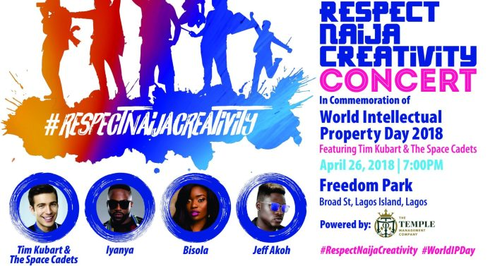 Tim Kubart storms Lagos for World Intellectual Property Day