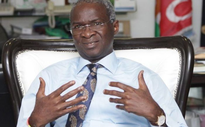 We recovered 690 containers of electricity equipment abandoned at port – Fashola