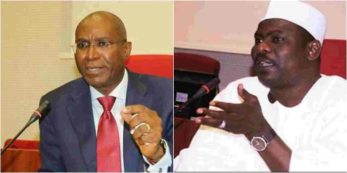 JUST IN:  Mace snatching:  Omo-Agege, Ndume appear before NASS panel
