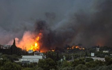 FOREIGN TITBITS: Greece wildfires: At least 20 killed, dozens injured