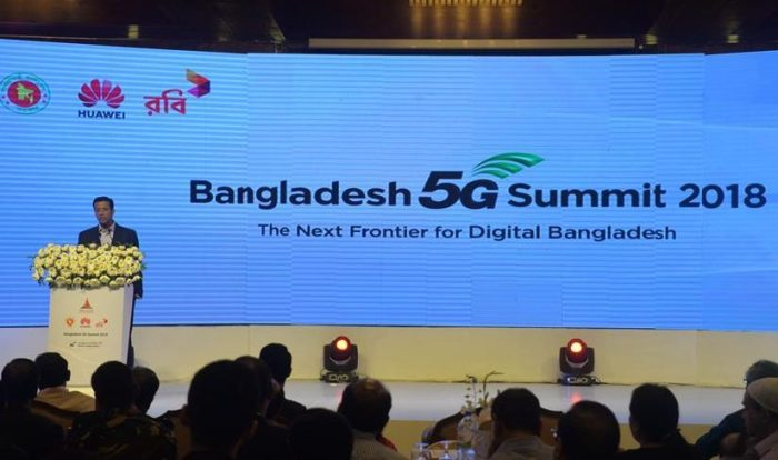 Huawei demonstrates 5G  Technology in Bangladesh