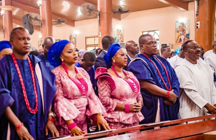 PHOTOS OF THE DAY:  Funeral service for Justice Pius Aderemi