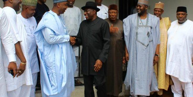 Jonathan lauds Saraki's leadership of National Assembly