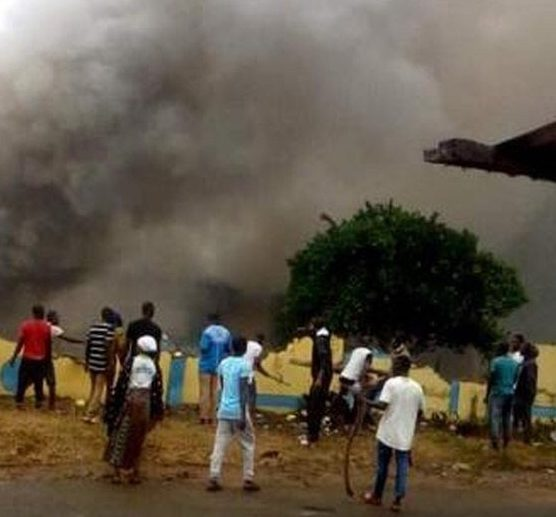 Killing:  Iwo residents set police station ablaze