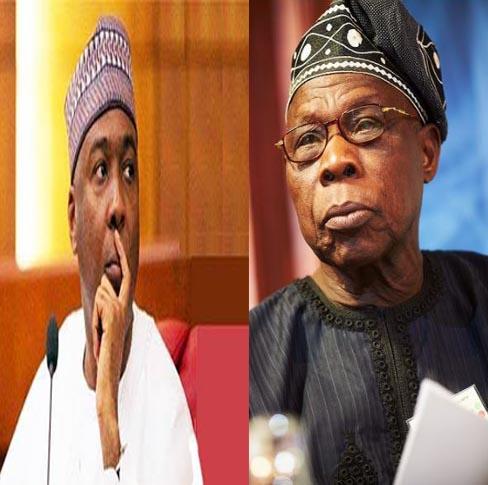 2019:  Saraki meets Obasanjo in Abeokuta