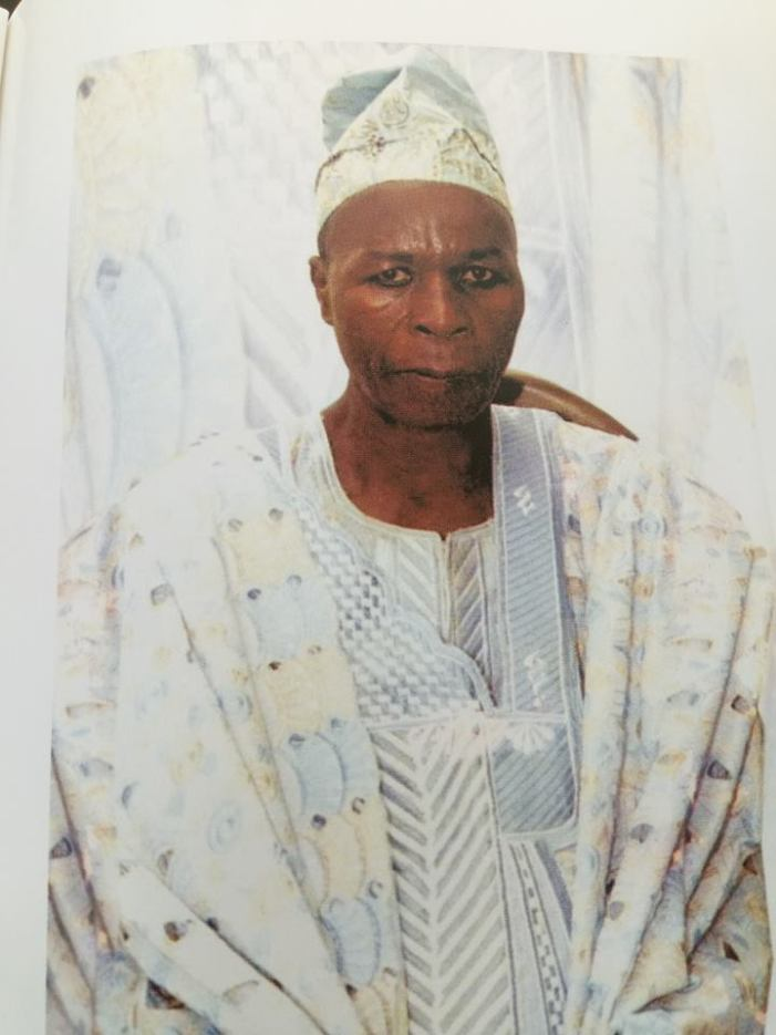 Aare Gani Adams loses father