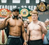 Anthony Joshua meets Povetkin in heavyweight world title unification bout