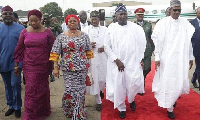 2019: Ambode sure of victory for Buhari, Sanwo-Olu