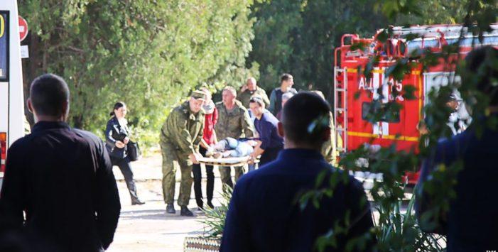 Breaking: Crimea college bomb attack kills 18